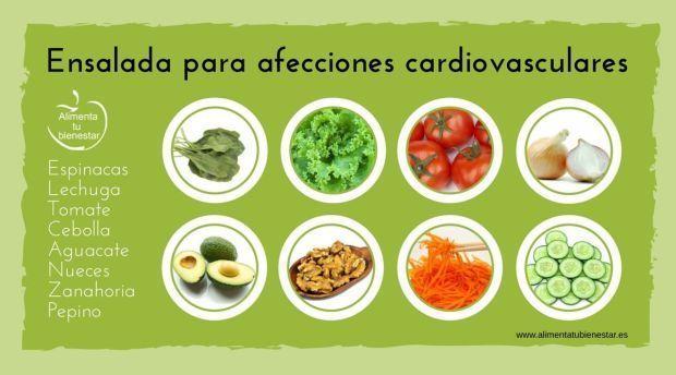 6 ensaladas para 6 enfermedades