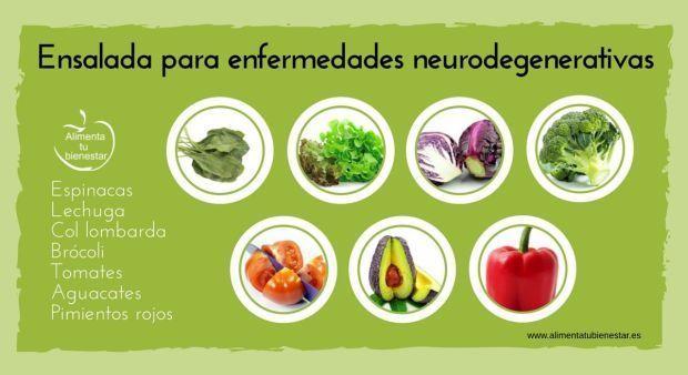 6 ensaladas para 6 enfermedades.