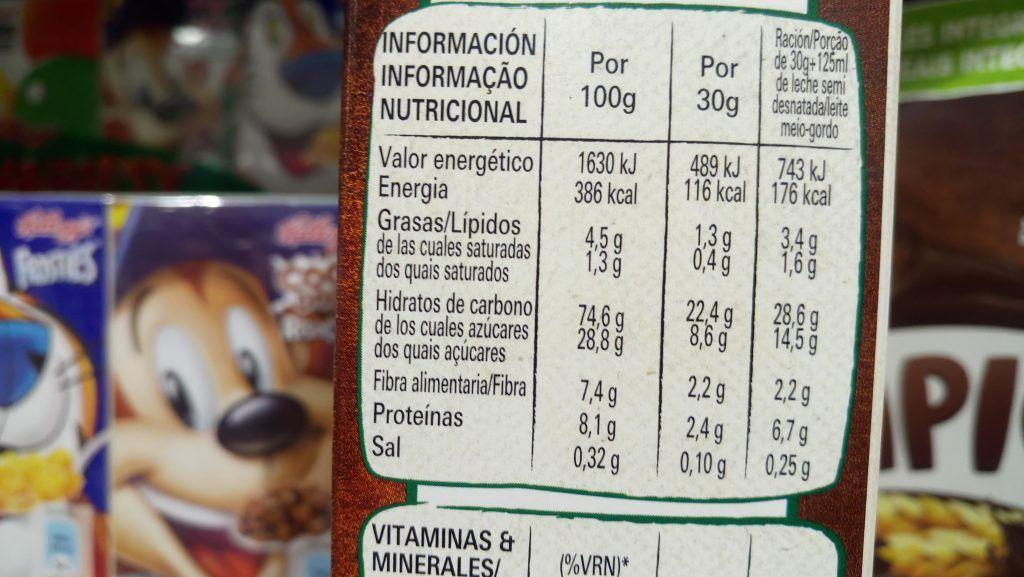 El azúcar oculto en los alimentos procesados