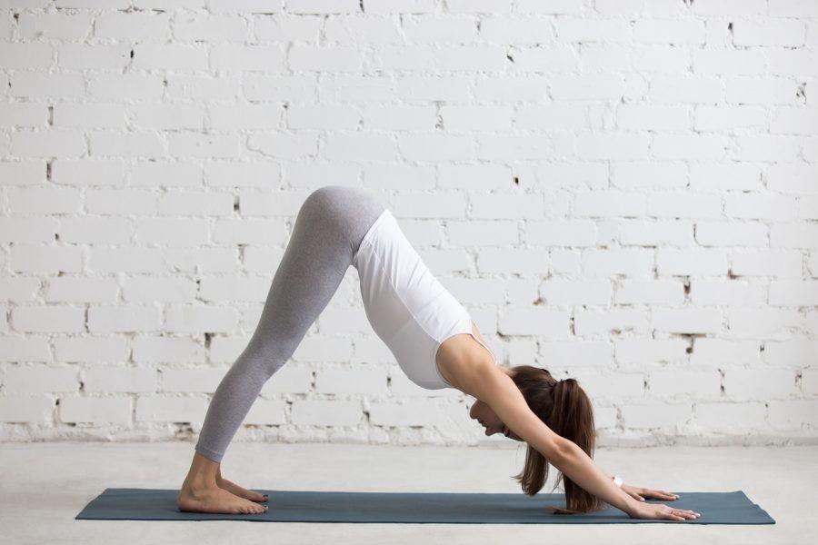 Combate tu estrés con el yoga.