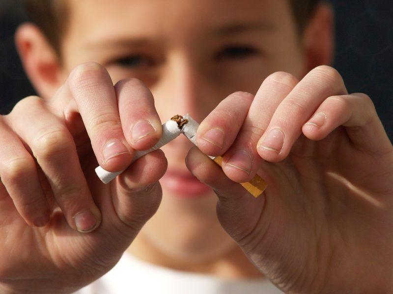 Medidas para dejar de fumar