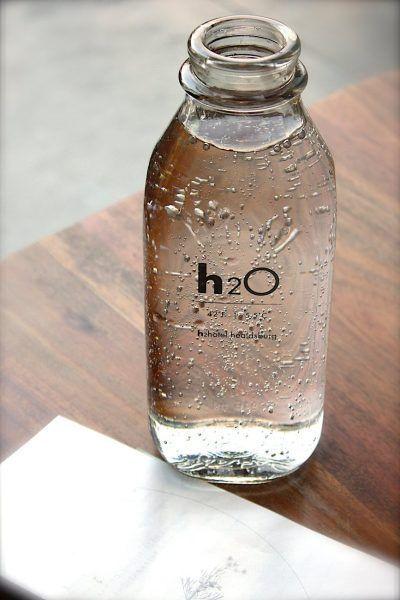 Recomiendo beber agua hidrogenada