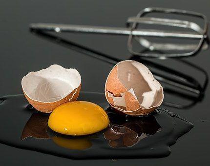 Las propiedades del huevo.