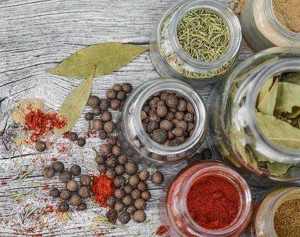 Hierbas aromáticas y especias.