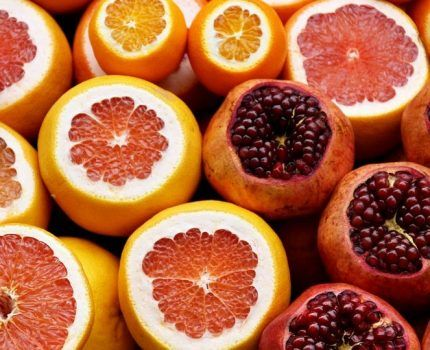 La vitamina C, antioxidante.