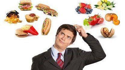 Los alimentos procesados y la comida basura.