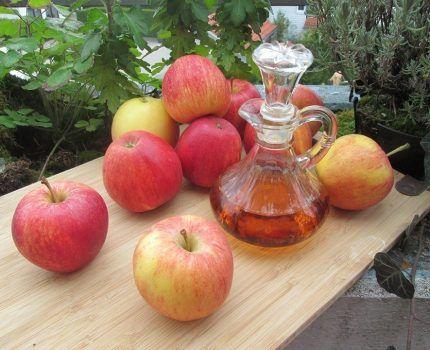 El vinagre de manzana es el más saludable