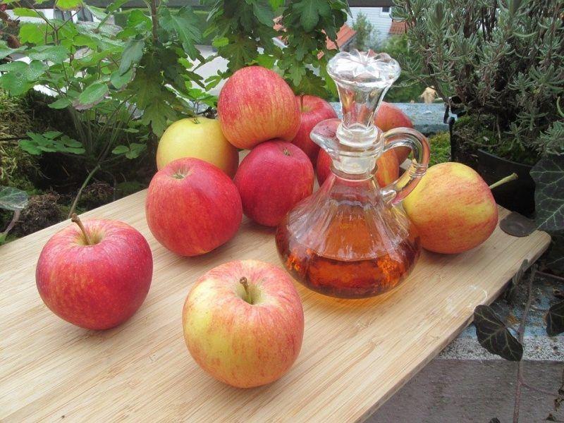 el vinagre de manzana