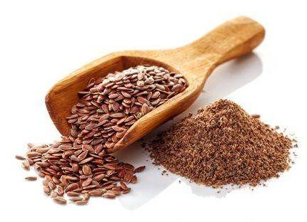 Las semillas de lino ricas en fibra
