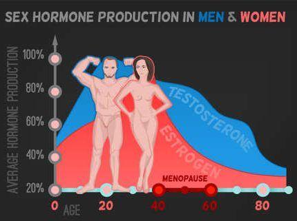 La menopausia y la andropausia