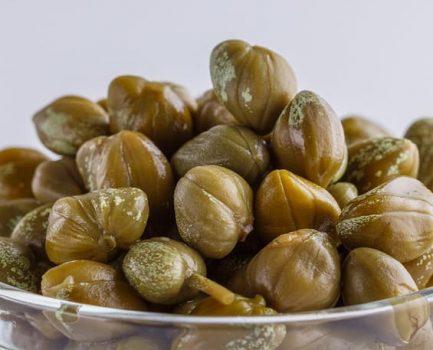 Las alcaparras ricas en rutina, potente antioxidante.